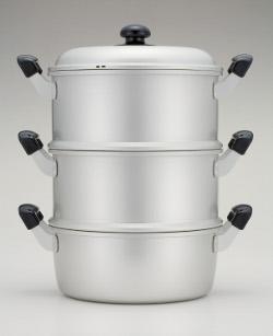 ゆうげ紀行 蒸し器セット(二重)