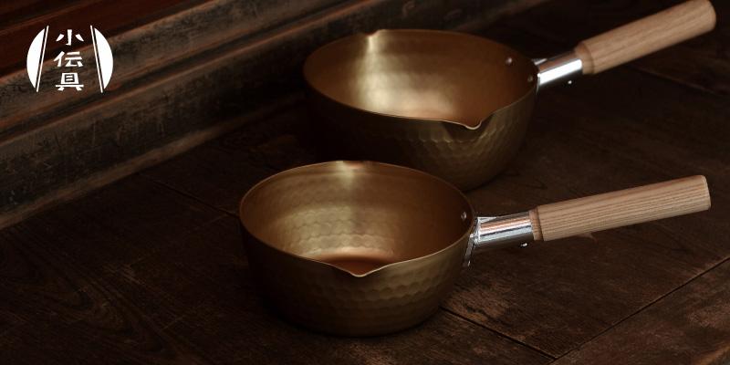 小伝具アルミ雪平鍋のイメージ