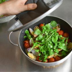 デミプロファミリーキャセロールで作るスープ