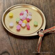 トリートレイ サークル 金平糖 銘々皿