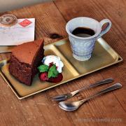 トリートレイ スクエア ケーキ 皿